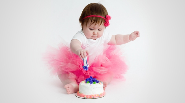 Holy crap, she's 1!