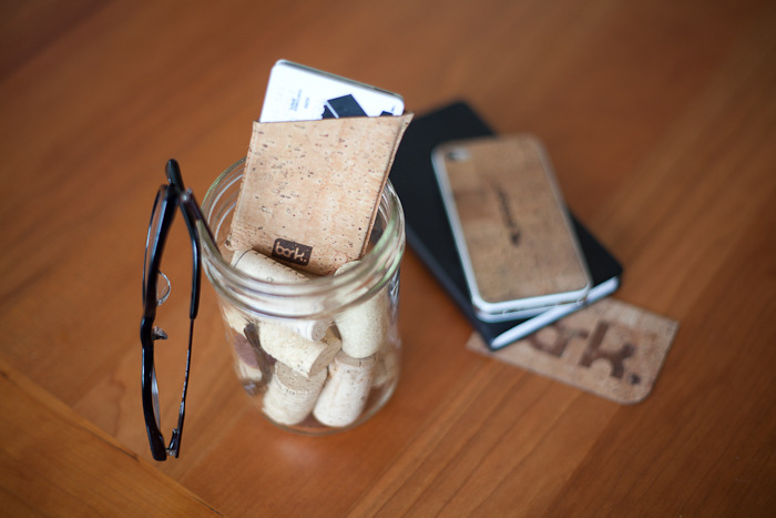 subrr. Beautiful accessories made from cork [Kickstarter]